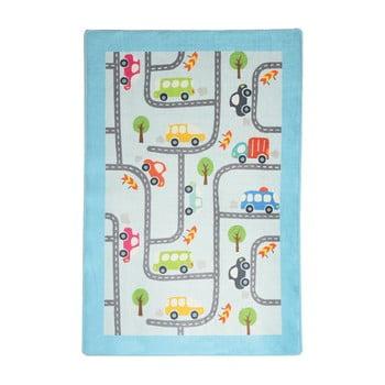 Covor copii Baby Cars, 140 x 190 cm poza bonami.ro
