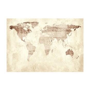 Tapet format mare Bimago Precious Map, 400 x 280 cm bonami.ro