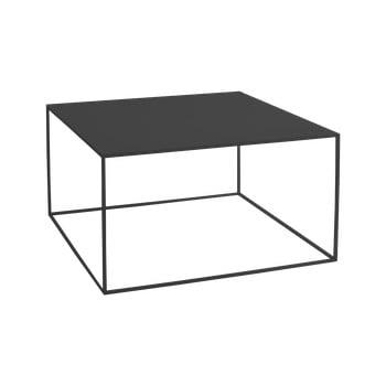Masă de cafea Custom Form Tensio, 80 x 80 cm, negru bonami.ro