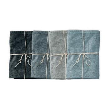 Set 4 șervețele textile Linen Couture Blue Gradient, lățime 40 cm bonami.ro