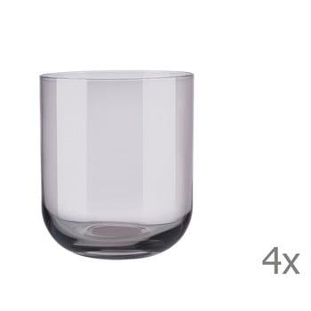 Set 4 pahare pentru apă Blomus Mira, 350 ml, mov bonami.ro