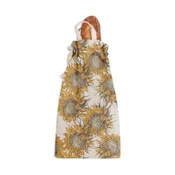 Săculeț textil pentru pâine Linen Couture Bag Sunflower, înălțime 42 cm bonami.ro