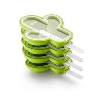 Set 4 forme din silicon pentru înghețată în formă de cactus Lékué, verde poza bonami.ro