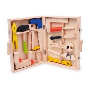 Trusa meșterului, jucărie din lemn DYI Legler Toolbox bonami.ro