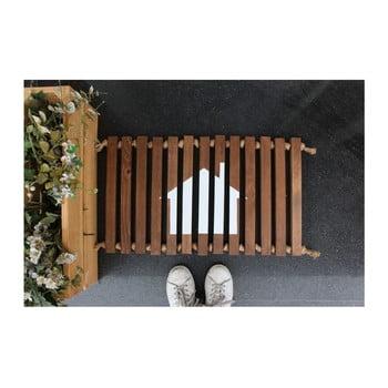 Preș/suport din lemn Doormat Woodie, 64 x 40 cm bonami.ro