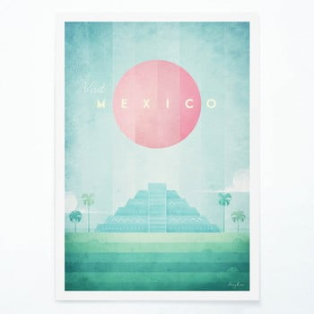 Poster Travelposter Mexico, A2 bonami.ro