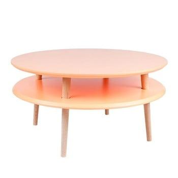 Măsuță de cafea Ragaba UFO Ø 70 cm, portocaliu imagine