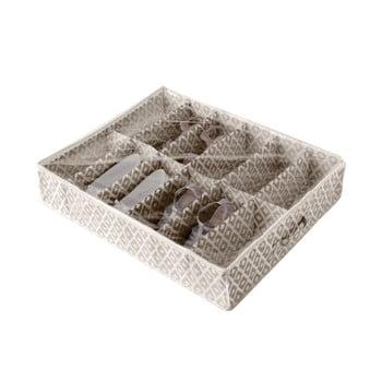 Cutie de depozitare sub pat pentru pantofi Compactor Daman Range, 76 x 60 cm poza bonami.ro