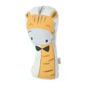 Pernă din amestec de bumbac pentru copii Mike&Co.NEWYORK Pillow Toy Giraffe, 17 x 34 cm bonami.ro