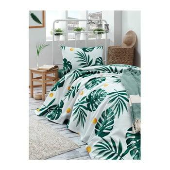 Cuvertură din bumbac pentru pat Muniro Jungle, 160 x 235 cm bonami.ro