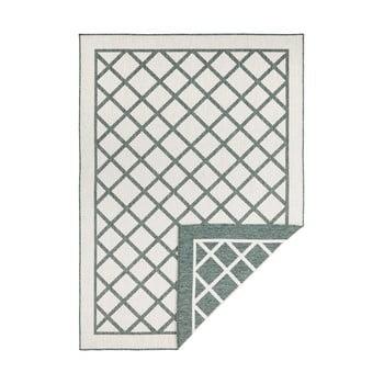 Covor adecvat pentru exterior Bougari Twin Supreme, 80 x 150 cm, verde-crem bonami.ro