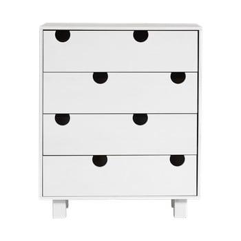 Comodă cu patru sertare Karup Design House, alb imagine