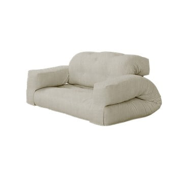 Canapea extensibilă Karup Design Hippo Linen, bej bonami.ro