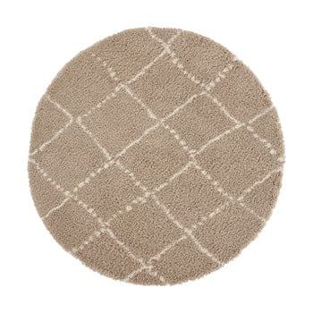 Covor Mint Rugs Hash, ⌀ 160 cm, maro imagine