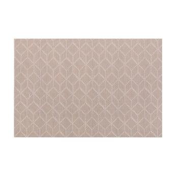 Șervet decorativ Tiseco Home Studio Cubes, 45 x 30 cm, maro gri poza bonami.ro