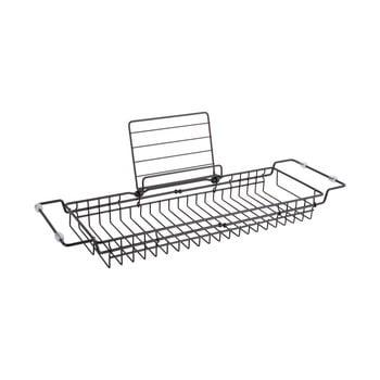 Suport reglabil din metal pentru cadă PT LIVING Tub, 61-86cm, negru poza bonami.ro
