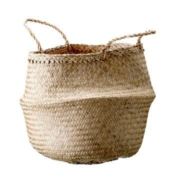 Coș de depozitare din iarbă de mare Bloomingville Basket, ø 40 cm poza bonami.ro