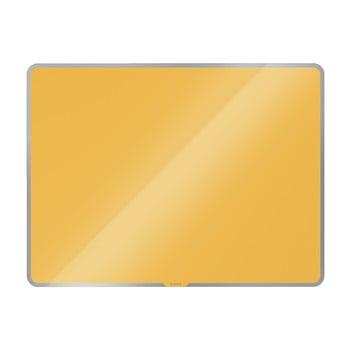 Tablă magnetică din sticlă Leitz Cosy, 80 x 60 cm, galben