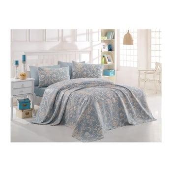 Cuvertură din bumbac pentru pat dublu Andalucia, 200x235cm bonami.ro