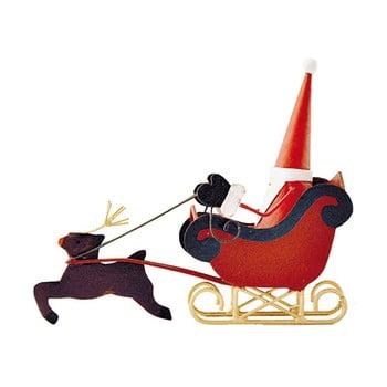 Decorațiune pentru Crăciun G-Bork Santa on Sledge poza bonami.ro