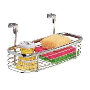 Coș metalic pentru ușă dulap bucătărie iDesign Axis Tray poza bonami.ro