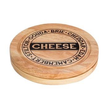 Set tocător și 4 cuțite pentru brânzeturi, cu spațiu pentru stocare Premier Housewares poza bonami.ro