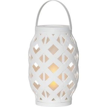 Felinar Best Season Flame Lantern, 15 x 23 cm, alb poza bonami.ro
