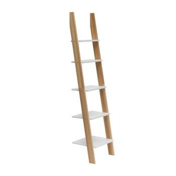 Raft în formă de scară Ragaba ASHME, lățime 45 cm, alb bonami.ro