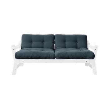 Canapea extensibilă Karup Design Step White, albastru petrol poza bonami.ro