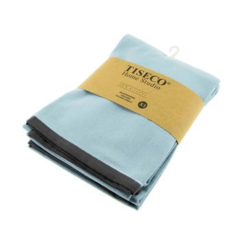 Set 3 prosoape de bumbac Tiseco Home Studio, 50 x 70 cm, albastru deschis bonami.ro