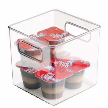 Cutie de depozitare pentru frigider iDesign Fridge Pantry, 15 x 15 cm poza bonami.ro