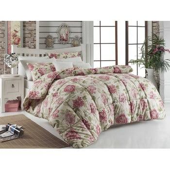 Cuvertură matlasată pentru pat matrimonial Care Pink, 195 x 215 cm bonami.ro