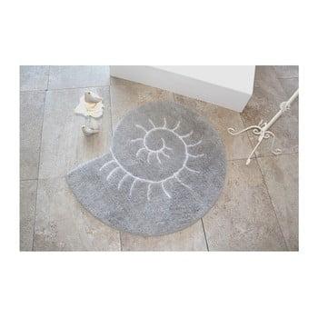 Covor Confetti Bathmats Helix, Ø 90 cm, gri bonami.ro