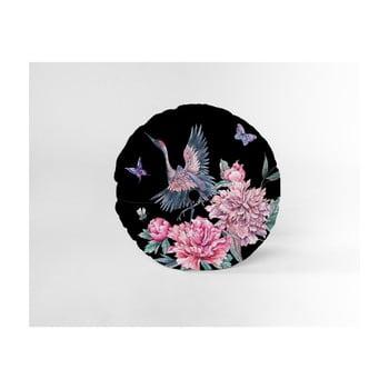 Pernă decorativă rotundă Velvet Atelier Garza, ⌀ 45 cm poza bonami.ro
