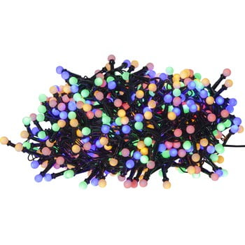 Șirag luminos pentru exterior cu LED Best Season Berry Mini, 700 becuri, colorat bonami.ro