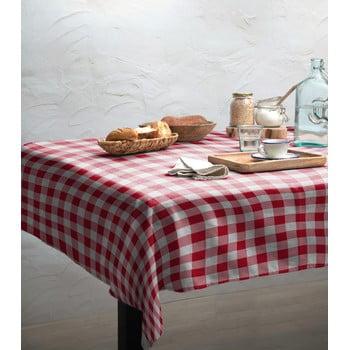 Față de masă Linen Couture Red Vichy, 140 x 200 cm bonami.ro