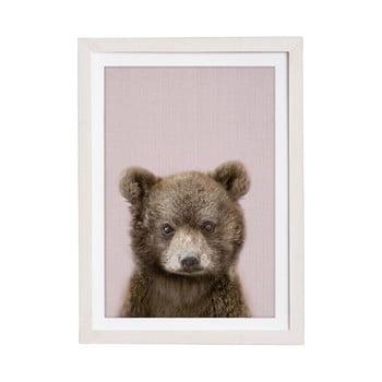 Tablou cu ramă pentru perete Querido Bestiario Baby Bear, 30 x 40 cm poza bonami.ro