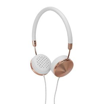 Căști audio cu detalii roz auriu Frends Layla Rosegold bonami.ro