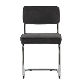 Scaun Unique Furniture Rupert Bauhaus, negru poza bonami.ro