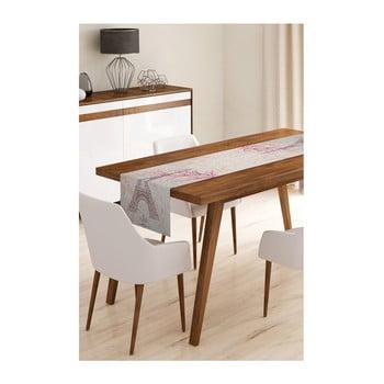 Napron din microfibră pentru masă Minimalist Cushion Covers Paris, 45x145cm bonami.ro