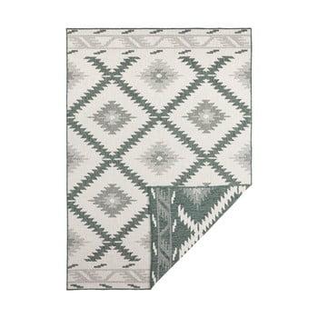 Covor adecvat pentru exterior Bougari Twin, 230 x 160 cm, verde-crem