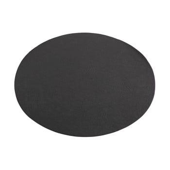 Suport farfurie din imitație de piele ZicZac Troja,33x45cm, negru bonami.ro