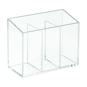Organizator cu 3 compartimente iDesign Clarity, 13x6,5cm bonami.ro