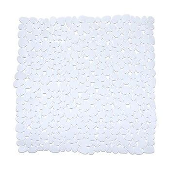 Covor baie anti-alunecare Wenko Drop, 54x54cm, alb bonami.ro
