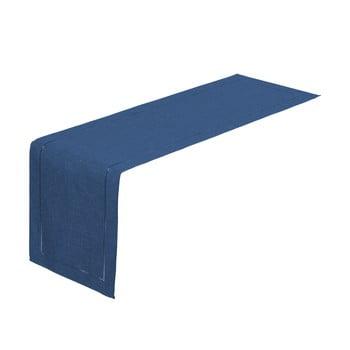 Napron Unimasa, 150 x 41 cm, albastru inchis