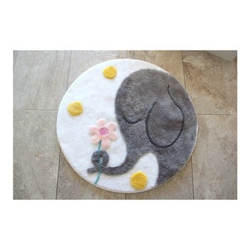 Covoraș de baie Confetti Bathmats Elephant, Ø 90 cm bonami.ro