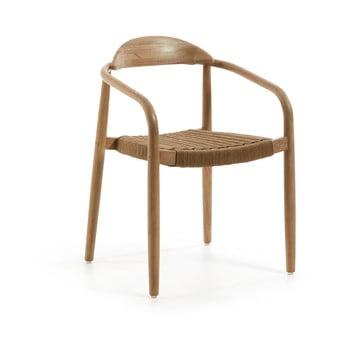 Set 4 scaune La Forma Glynis, bej imagine