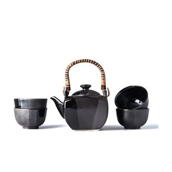 Set ceai MIJ Gunmetal, negru bonami.ro