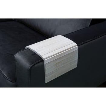 Cotieră flexibilă pentru canapea WOOOD Antique, alb bonami.ro