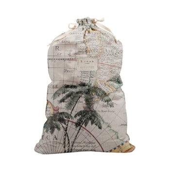 Săculeț textil pentru haine Linen Couture Bag Palm Trees, înălțime 75 cm bonami.ro